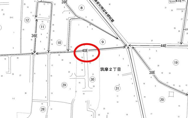 長野県、路線価図