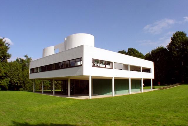 ル・コルビュジェ、近代建築