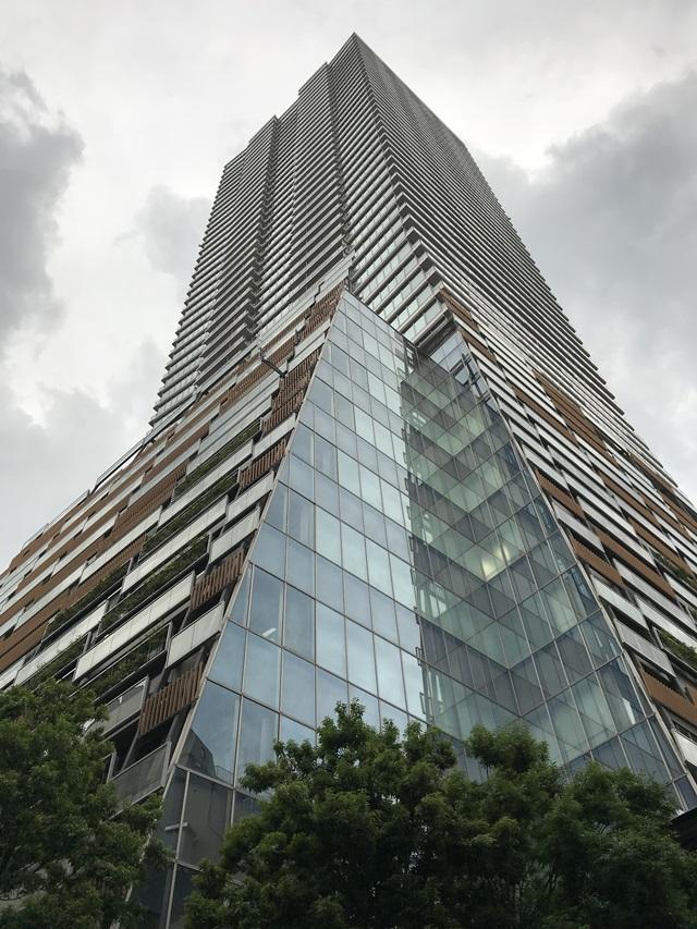 豊島区役所、隈研吾、作品