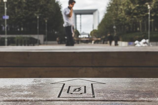 道路にある「Gマークと矢印」の意味を画像で解説。
