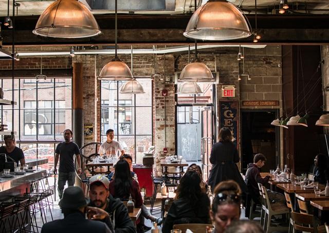 NYカフェ風、キッチン