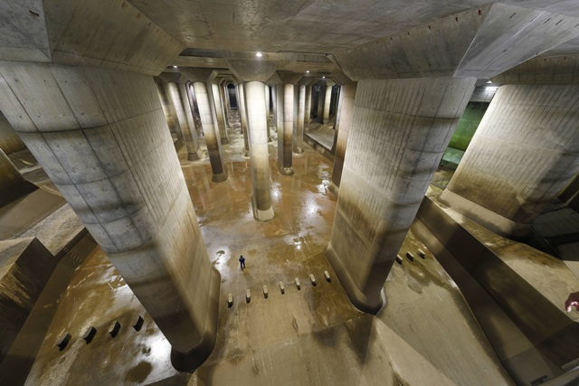 インフラツーリズム、地下神殿