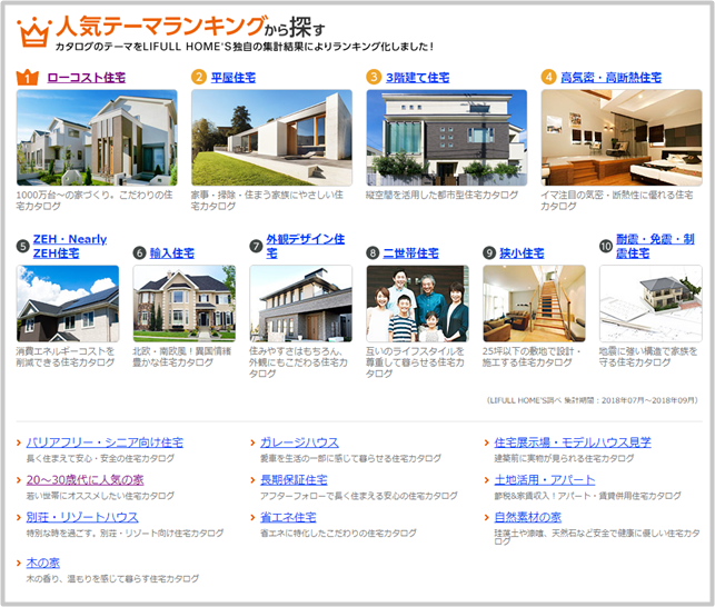 homes カタログ一括請求