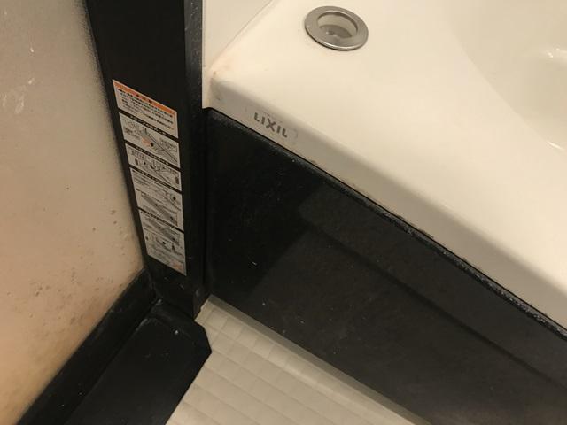 浴室クリーニング、ビフォー写真