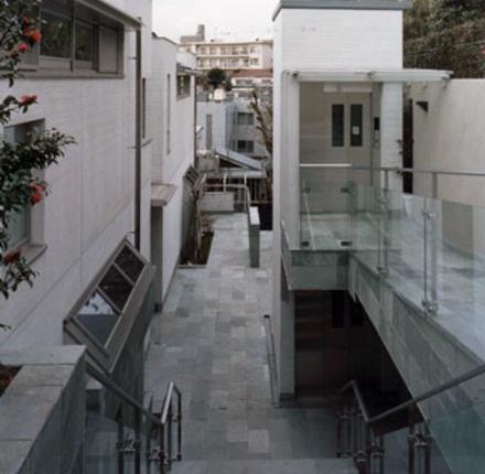 ガーデンパサージュ広尾 外部空間